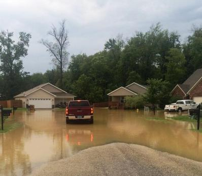Flooded Subdivision